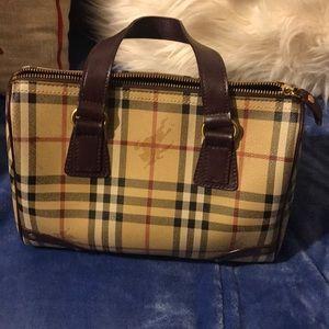 Burberry Boston bag!